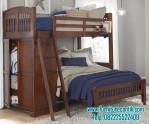 Tempat Tidur Tingkat Jati Jepara
