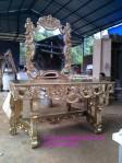 Meja Rias Ukir Emas Bali