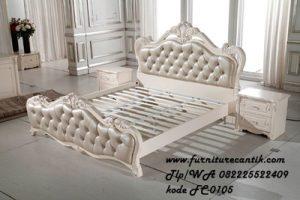 Tempat Tidur Ukir mewah modern