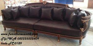 Sofa Ukir Ruang Tamu Jati