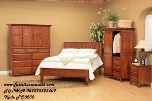 Kamar Set Minimalis Natural