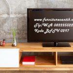 Bufet TV Minimalis Jati Shabby