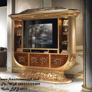 Bufet TV Ukiran Mewah Napoli
