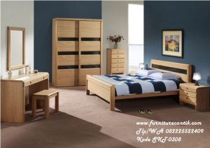 Furniture Kamar Kayu Model Minimalis