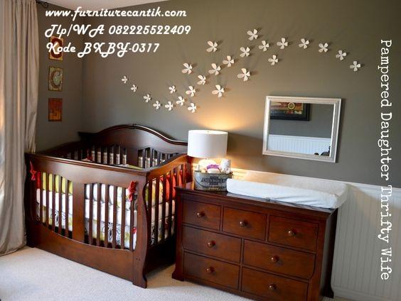 Jual Set Tempat Tidur Bayi