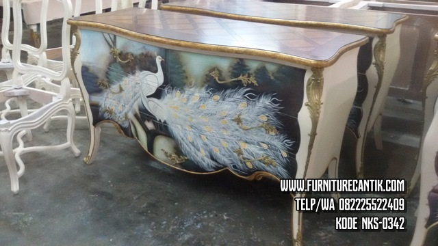 Nakas Lukisan Furniture Cantik