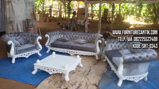 Sofa Ruang Tamu Ukiran Cantik