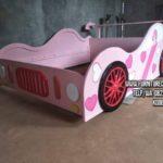 Tempat Tidur Anak Karakter Pink