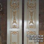 Pintu Rumah Ukir Minimalis
