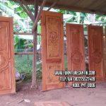 Pintu Rumah Ukiran Mewah Jepara