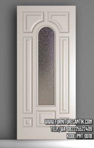 Daun Pintu Rumah Minimalis Cat Duco Putih