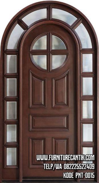 Model Kusen Pintu Jati Minimalis Antik