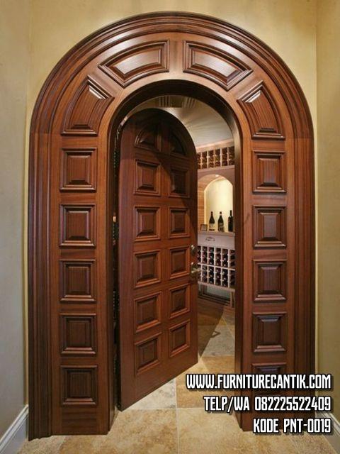 Pintu Rumah Jati Minimalis Kualitas Bagus