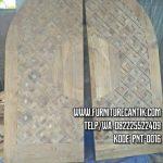 Pintu Utama Masjid Kayu Jati (3)