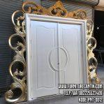 Pintu Utama Rumah Mewah Jepara