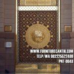 Pintu Kusen Masjid Nabawi Jati