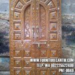 Pintu Masjid Jati Ukiran Kuno