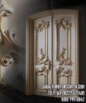 Pintu Rumah Mewah Kupu Tarung Ukiran