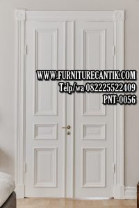 Pintu Rumah Mewah Jati Minimalis Klasik