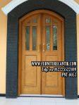 Pintu Rumah Mewah Minimalis kayu jati
