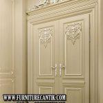 Pintu Rumah Mewah Ukiran Mewah Jati
