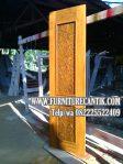 Daun Pintu Jati Model Minimalis Modern