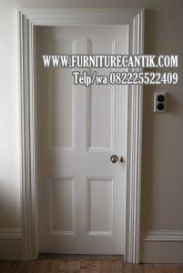 Pintu Rumah Mewah Model Minimalis Jati Solid