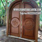 pintu masjid minimalis ukiran mewah