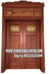 Jasa Pintu Masjid Ukiran Jepara Jati TPK Solid