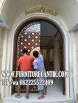 Jual Daun Pintu Kusen Masjid Jati Mewah