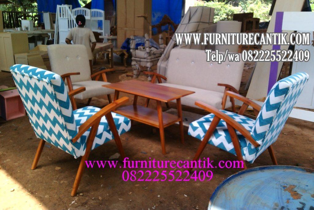 Kursi Tamu Sofa Jati Model Klasik Minimalis Antik