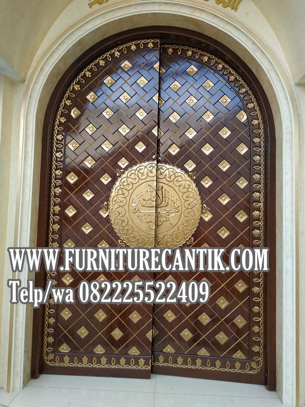 Desain Pintu Masjid - Rumah Joglo Limasan Work