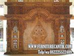 Pintu Utama Rumah Gebyok Jati Klasik Mewah