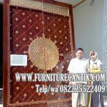 Jual Pintu Kusen Masjid Kayu Jati Bagus