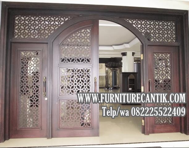 Jual Pintu Masjid Kayu Jati