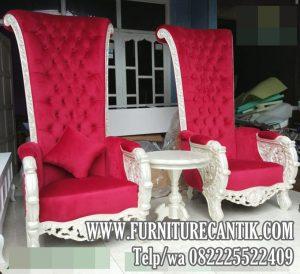 Kursi Sofa Jati Model Raja Bellagio Ukiran Mewah