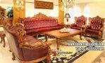 Kursi Sofa Ruang Tamu Jati Mewah Ukiran Nusantara