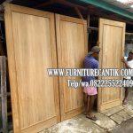Pintu Kamar Rumah Mewah Jati TPK