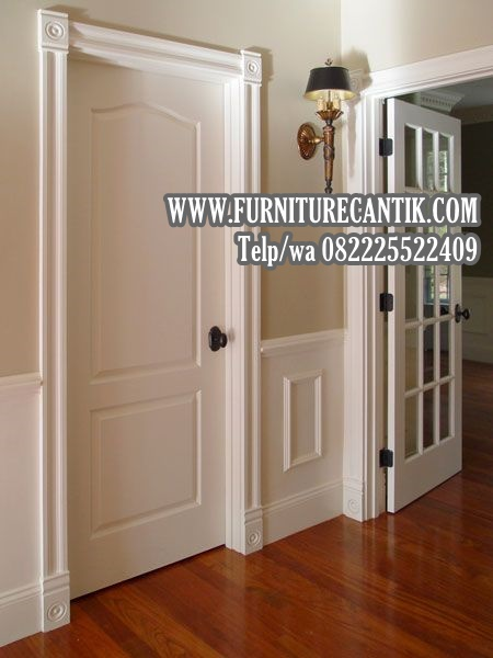 Pintu Kamar Rumah Mewah Jati Terbaru