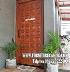 Pintu Kamar Rumah Mewah Minimalis Jati