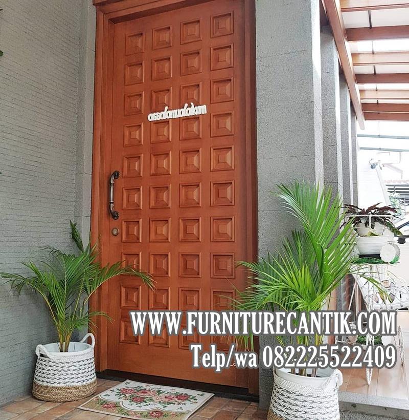 Pintu Kamar Rumah Minimalis Jati