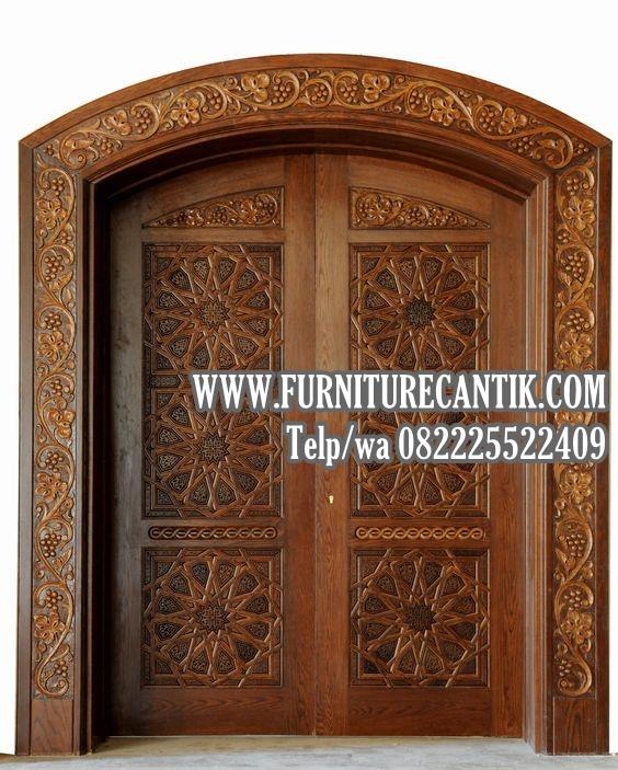 Pintu Kusen Masjid Kayu Jati
