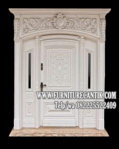 Pintu Utama Rumah Mewah Minimalis Terbaru