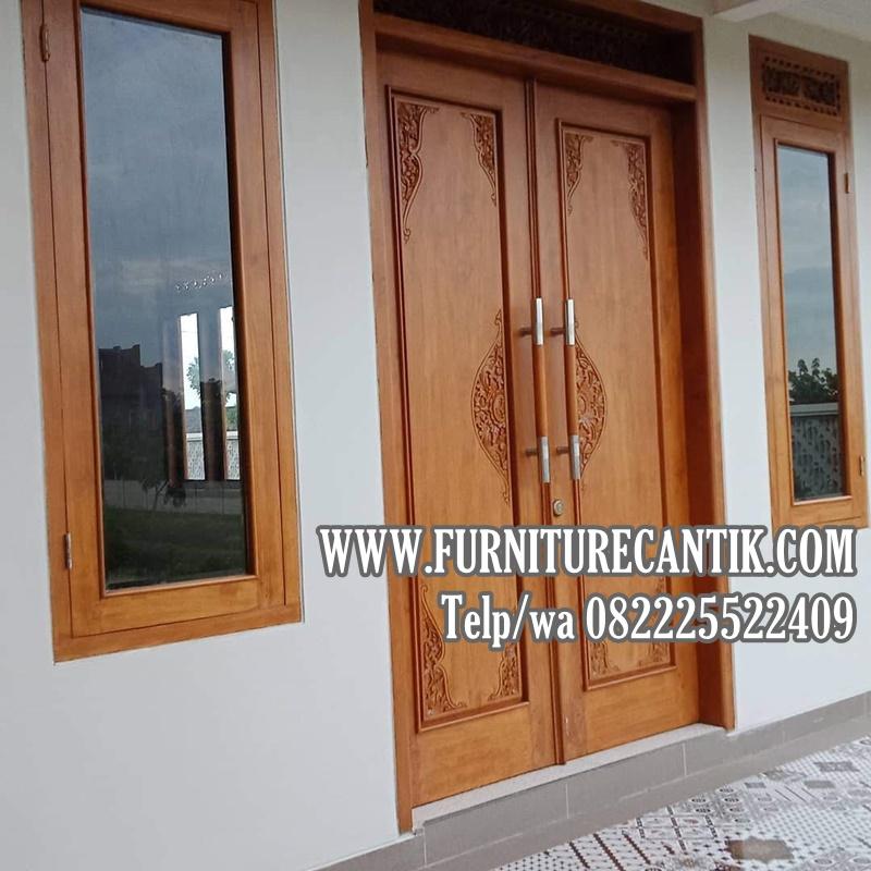 Pintu Utama Rumah Mewah Minimalis