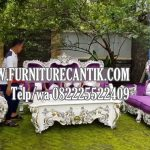 Sofa Jati Ruang Tamu Mewah Ukiran Jepara