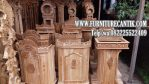 Mimbar Masjid Kayu Jati Minimalis Podium