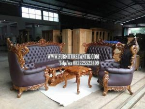 Kursi Sofa Jati Ukiran Mewah Terbaru