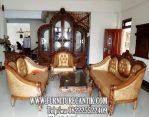 Kursi Tamu Sofa Jati Ganesha Ukiran Dari Jepara