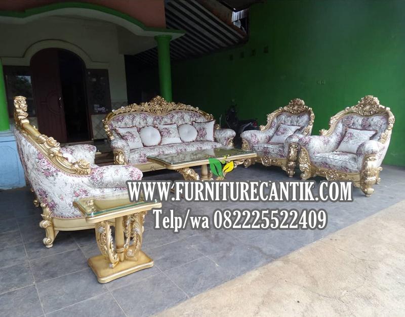 Sofa Tamu Ukiran Mewah Jepara