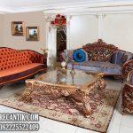 Sofa Tamu Ukiran Mewah Terbaru